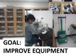 goal improve equipment
