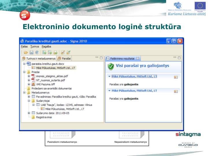 Elektroninio dokumento