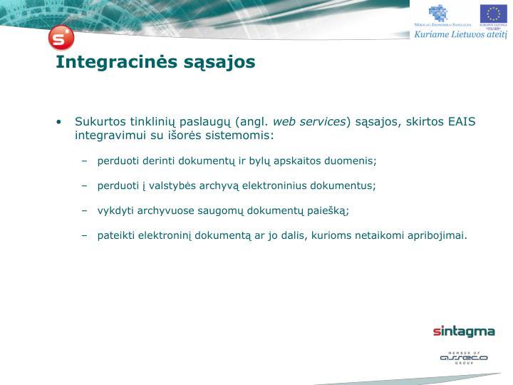 Integracinės sąsajos