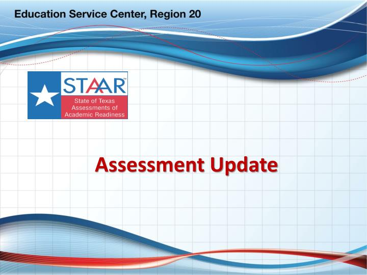 assessment update n.