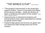 the world is flat thomas freidman