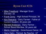 byron unit 226