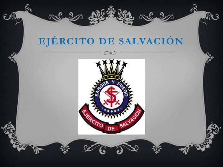 Ejército de salvación