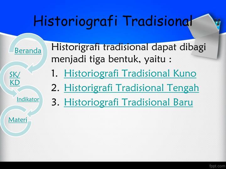 Historiografi