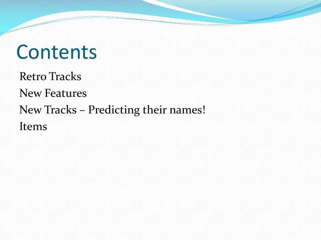 mario kart 9 items predictions