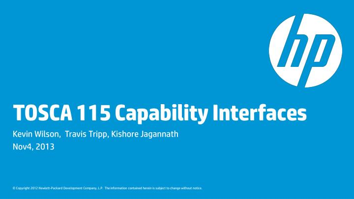 tosca 115 capability interfaces n.