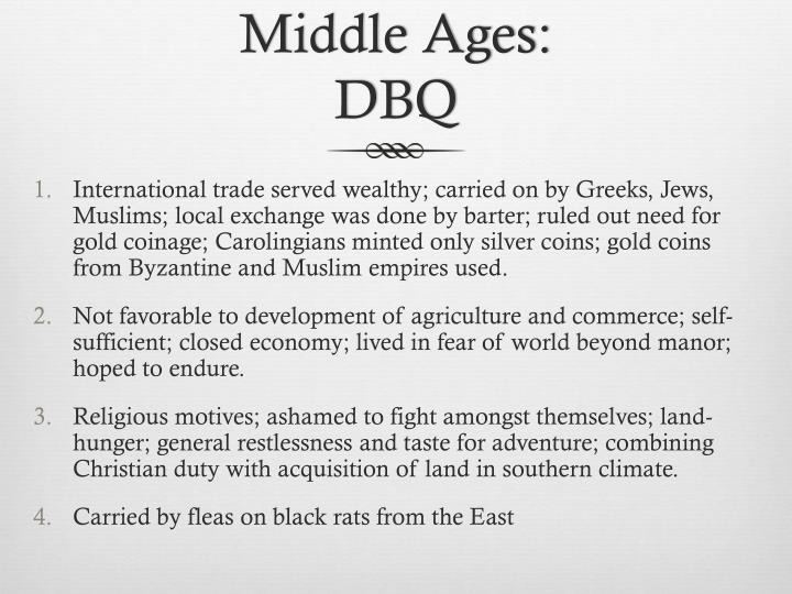 Middle Ages: