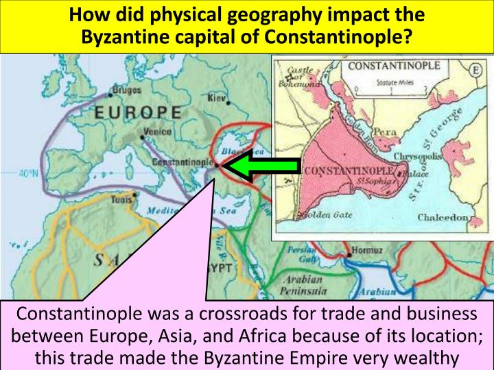 How did physical geography impact the