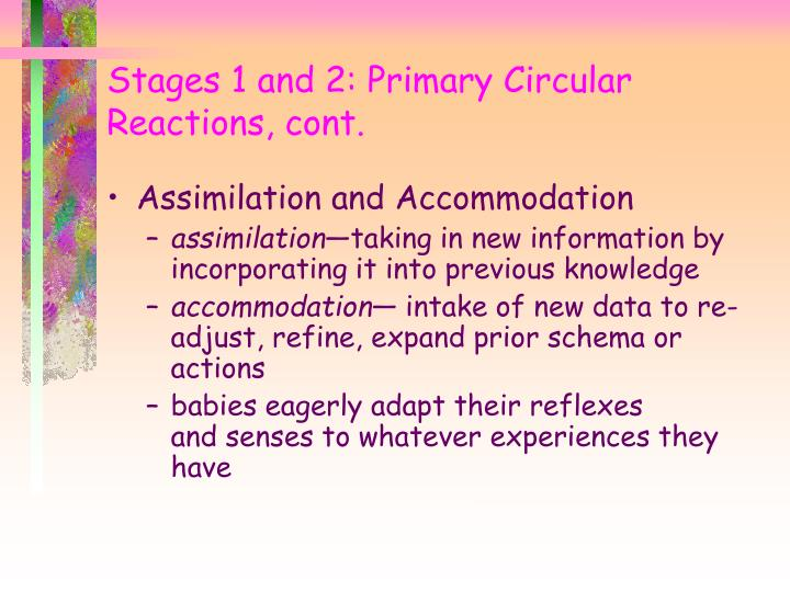 Assimilation and Accommodation