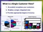 what is a single customer view