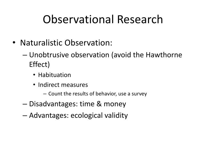 Observational research1
