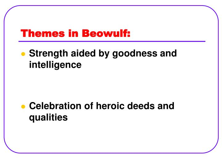 heroic traits in beowulf and jaws Quizlet provides beowulf characters activities, flashcards and games start learning today for free.