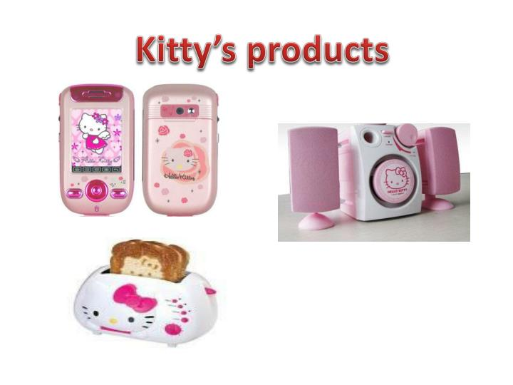 Kitty's products