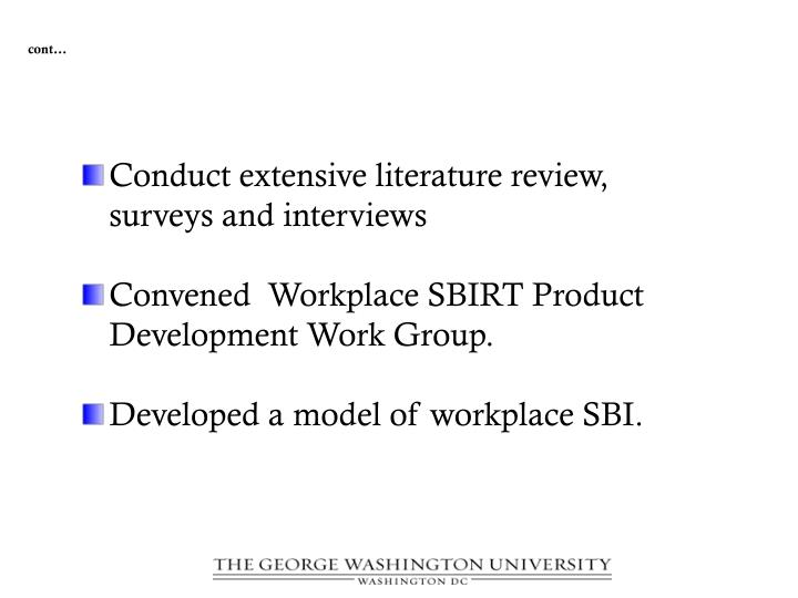 literature review of employee assistance programs Employee assistance program employee assistance programs: an historical and literature review bruce e brody, ma bruce e brody, ma, a consultant for employee assistance programs, is based in.