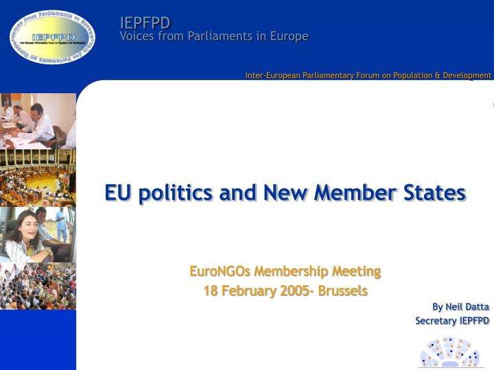 eu politics and new member states n.