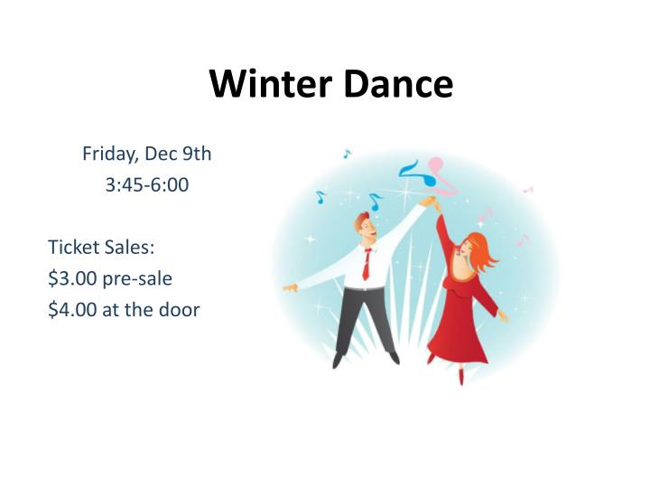 winter dance n.