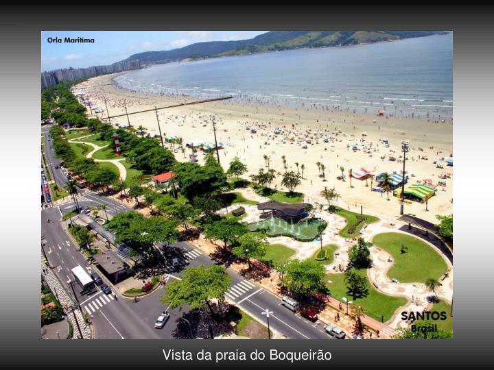 Vista da praia do Boqueirão