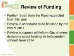review of funding2