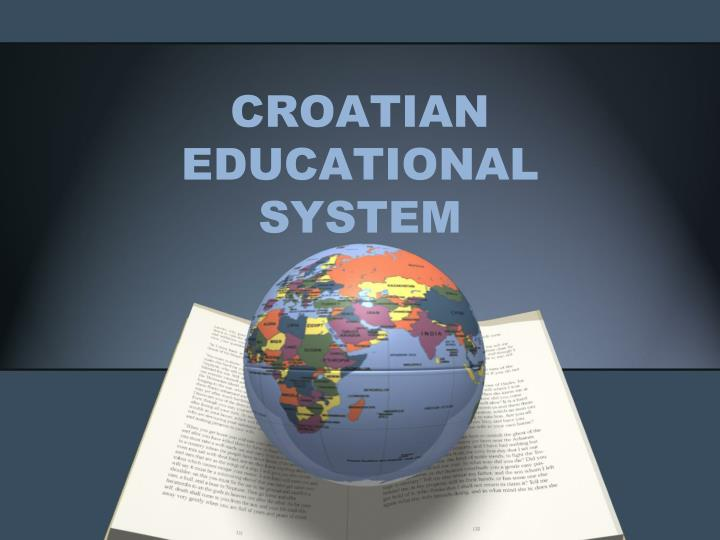 croatian educational system n.