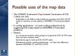 possible uses of the map data