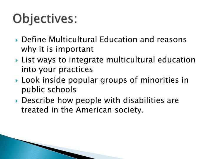 meaning of multicultural education