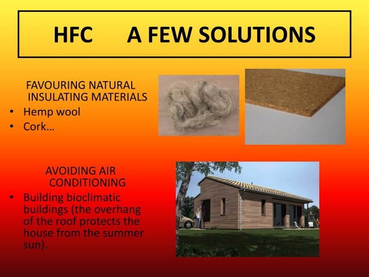 HFCA FEW SOLUTIONS