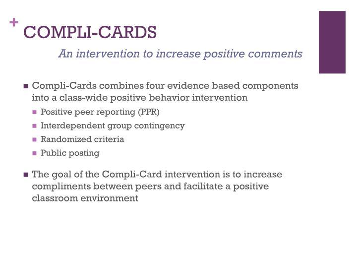 Compli cards