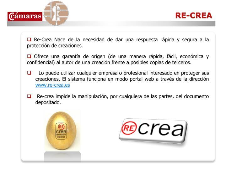 RE-CREA