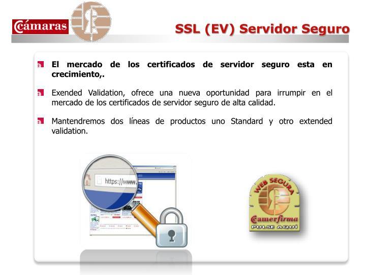 SSL (EV) Servidor