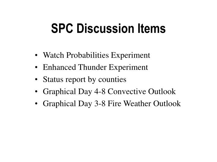 spc discussion items n.