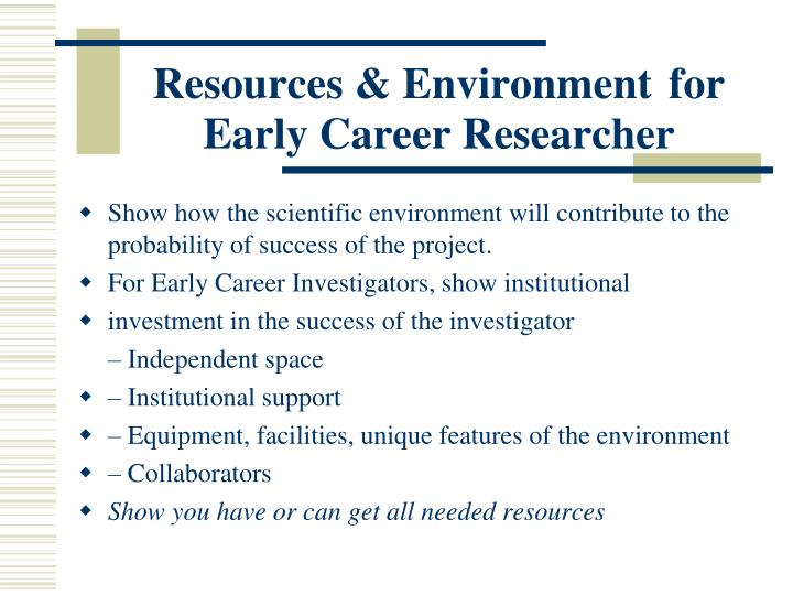 Resources & Environment