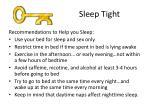 sleep tight1