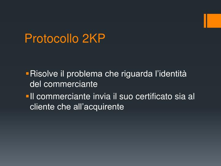 Protocollo 2KP