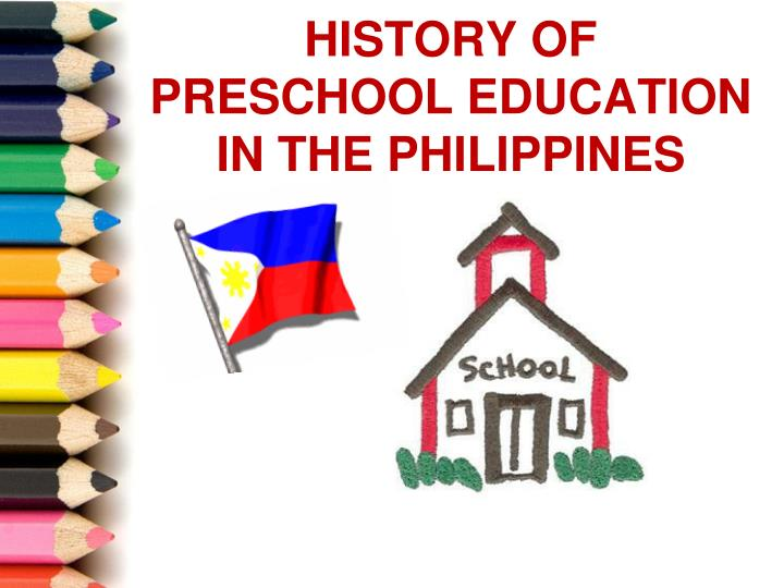 history of preschool education in the philippines n.
