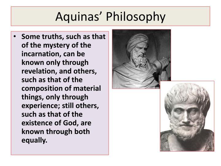 Aquinas' Philosophy