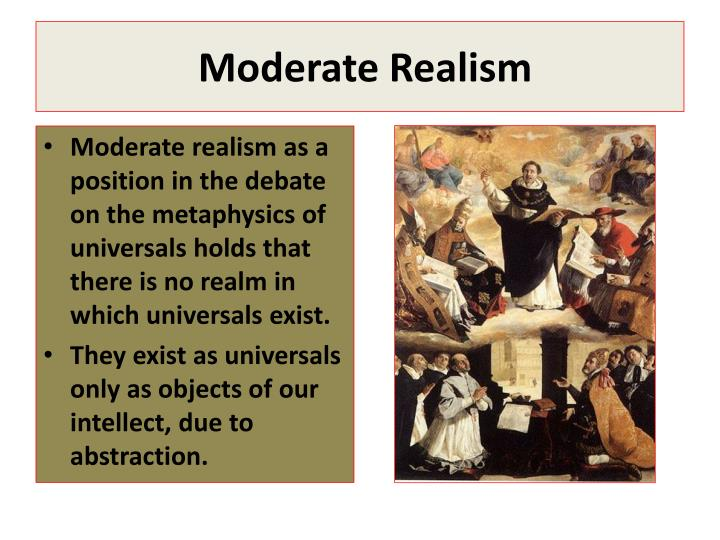 Moderate Realism