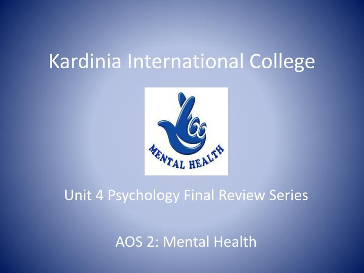 psychology final review Developmental psychology final exam rate: rated 400 by 1 people test 3 insert a take this exam button on your site: 1 known for general adaptation syndrome a.
