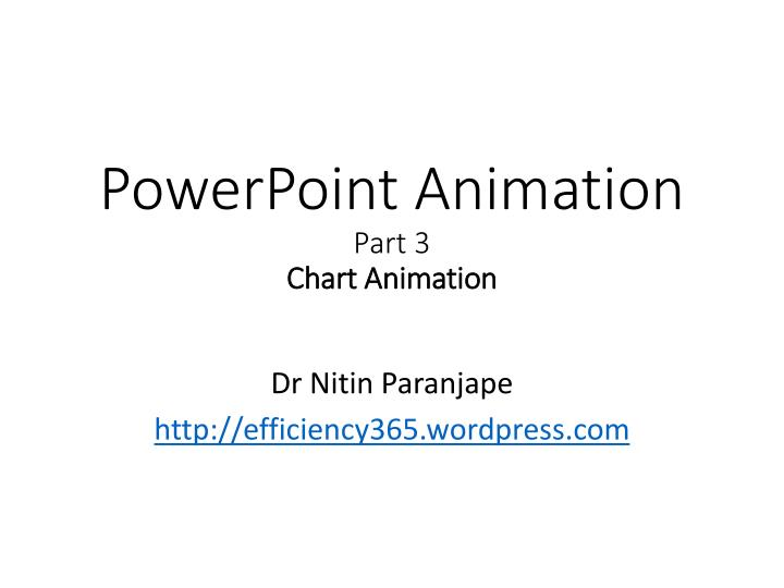 powerpoint animation part 3 chart animation n.