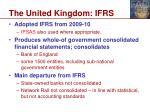 the united kingdom ifrs