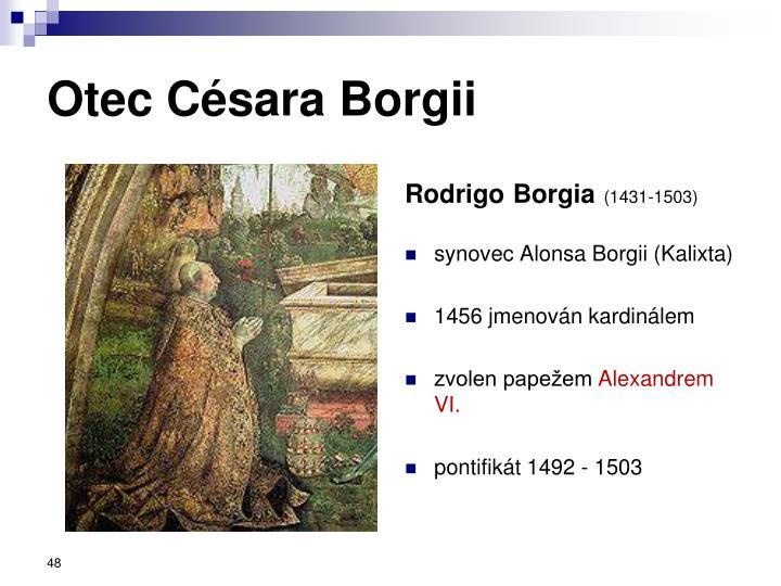 Otec Césara Borgii