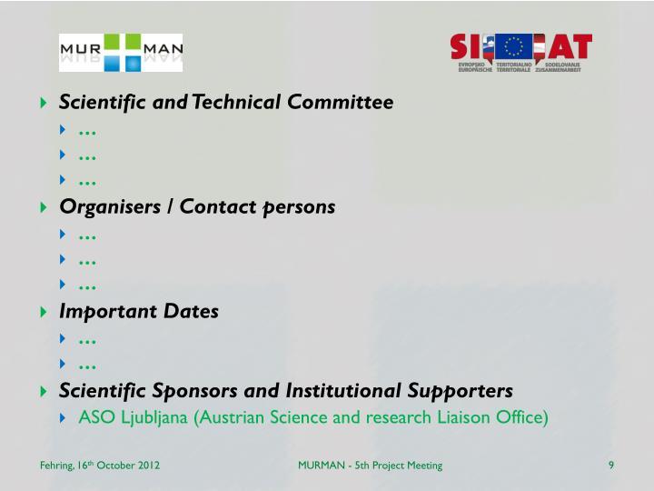 MURMAN - 5th Project Meeting