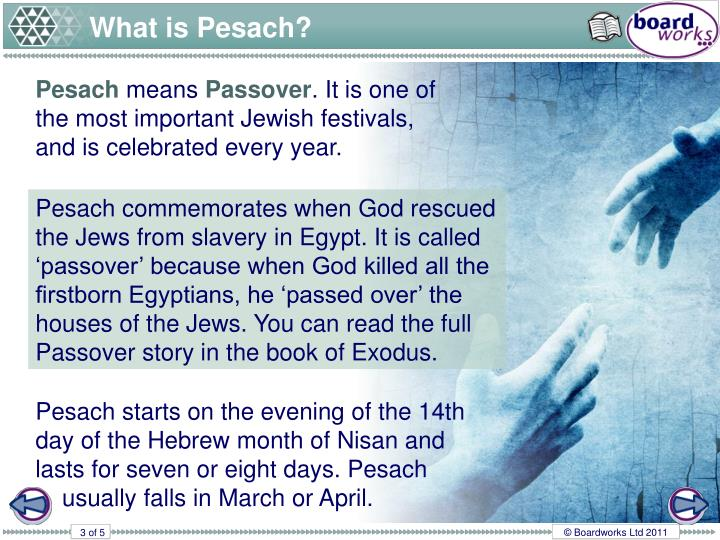 What is Pesach?