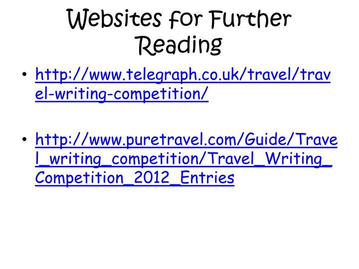 Websites for Further Reading