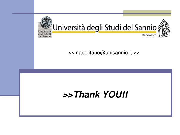 >> napolitano@unisannio.it <<
