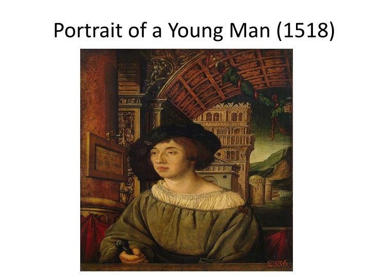 portrait of a young man 1518 n.