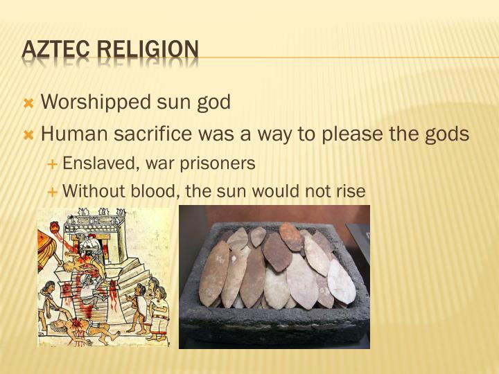 Worshipped sun god
