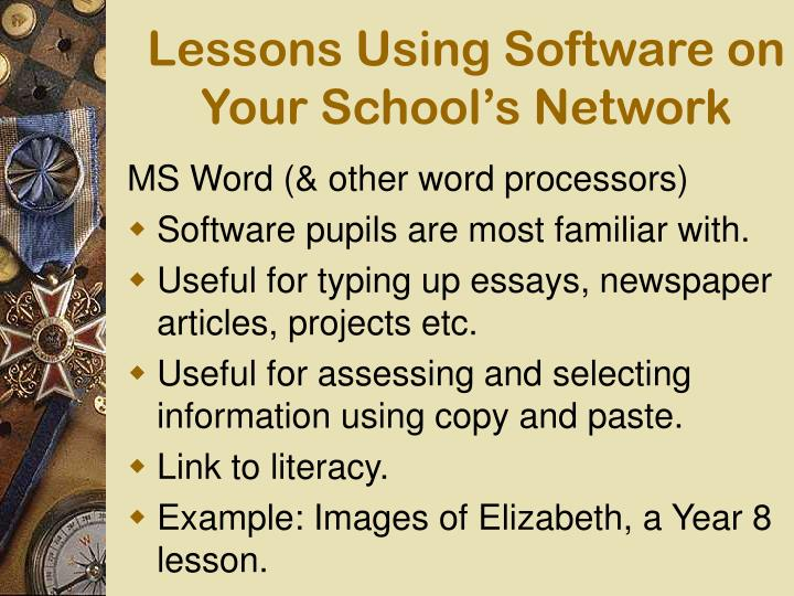 typing lesson using essays