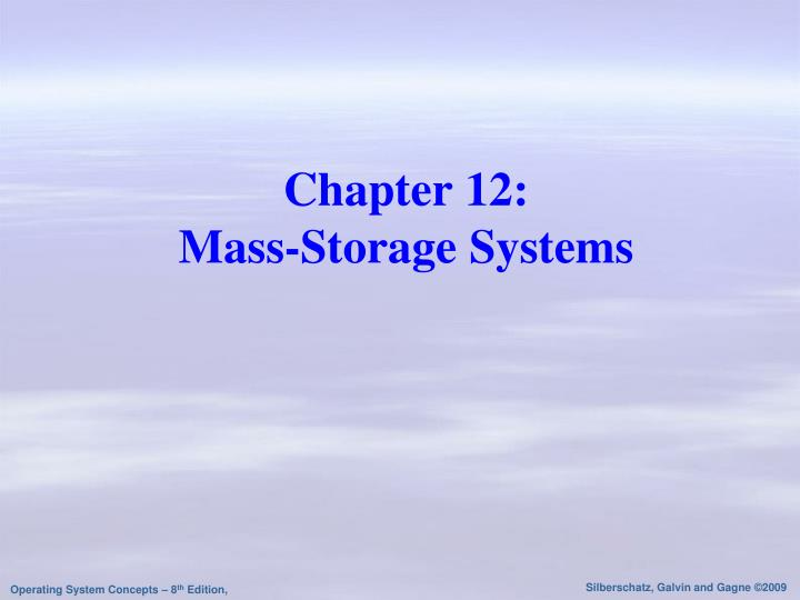 chapter 12 mass storage systems n.