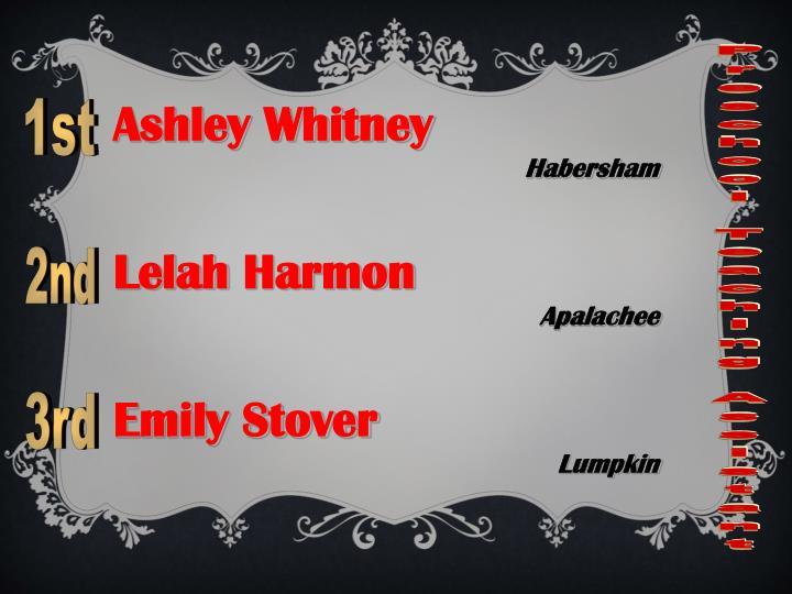 Ashley Whitney