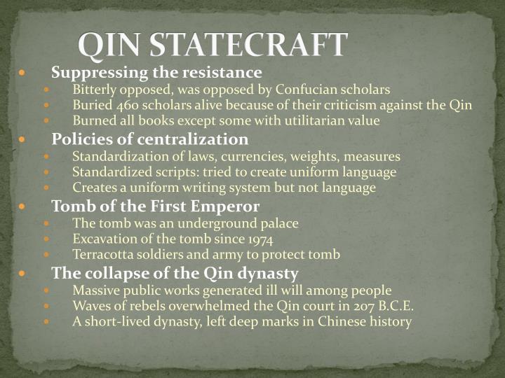 QIN STATECRAFT